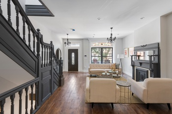 Restored Brownstone with TONS of original details!