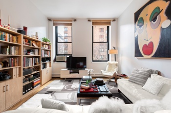 Stunning Large One bedroom Loft Apartment Plus Bonus Mezzanine with High Ceilings, Massive Windows, Good Light and Character in a Renovated Full Service Doorman Building in Prime Noho/Greenwich Village
